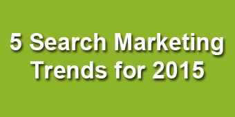 5 Search MArketing Trends 2015
